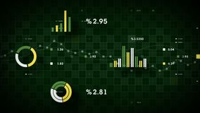 Spurhaltungsgrün der kommerziellen Daten 4K vektor abbildung