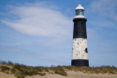 Spurn Head Lighthouse Stock Image