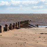 Spurn Head Point. Spurn Head, Spurn Point Beach @ Spurn Head East Riding, Yorkshire  England 24 February 2015 Royalty Free Stock Photos