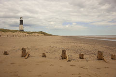 Spurn lighthouse Stock Image