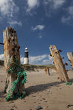 Spurn Point. Coastal scene at Spurn Point, East Riding of Yorkshire England Royalty Free Stock Photo