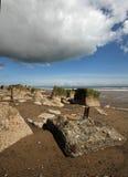 Spurn Point Humber Estuary Stock Photos