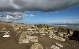 Spurn Point Humber Estuary Stock Images