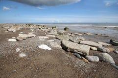 Spurn Point Humber Estuary Stock Image