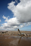 Spurn Point Humber Estuary stock photo