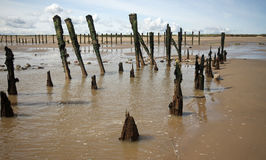Spurn Point Humber Estuary Stock Photos