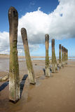 Spurn Point Humber Estuary Royalty Free Stock Photo