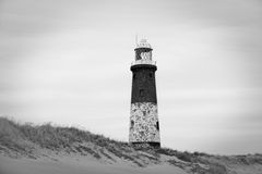 Spurn point lighthouse Royalty Free Stock Photo