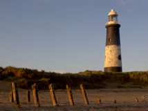Spurn Point lighthouse Stock Photos