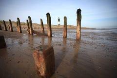 Spurn point. Peninsular, yorkshire coast royalty free stock images