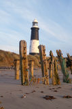 Spurn point. Peninsular, yorkshire coast royalty free stock photography