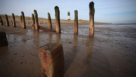 Spurn point royalty free stock images