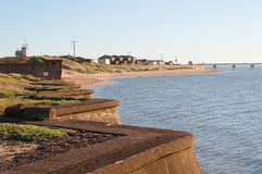 Spurn Point Village View Stock Images