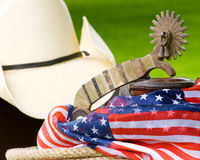 Spurred Patriotic Royalty Free Stock Images