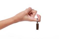 Spustowy palec Obraz Royalty Free