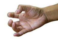 Spustowy palec Zdjęcie Royalty Free