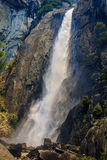 spuszczają Yosemite falls Fotografia Stock