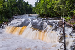 spuszczają tahquamenon falls Fotografia Royalty Free