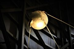 Sputnik en Arkivfoton