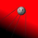 Sputnik. The historical satellite of the USSR Stock Photo