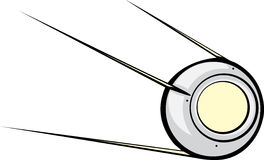 Sputnik Satellite Stock Photo