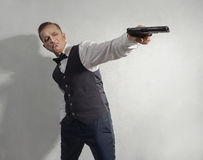 Spy agent Royalty Free Stock Photography