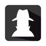 Spy avatar isolated icon Royalty Free Stock Photography
