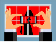 Spy Camera (vector) Stock Images