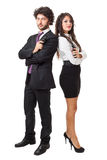 Spy couple Royalty Free Stock Photos