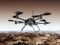 Spy Drone Royalty Free Stock Images