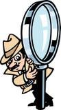 Spy Guy Royalty Free Stock Photography
