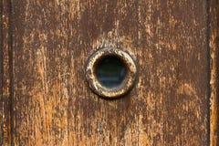 Spy hole Stock Image