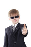 Spy Kid Royalty Free Stock Photo
