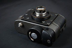 Spy photo miniature camera Royalty Free Stock Image