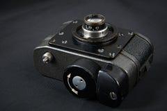 Spy photo miniature camera Royalty Free Stock Image