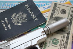 Spy travel Stock Photo