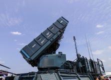 SPYDER地对空导弹系统 库存图片