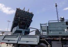 SPYDER地对空导弹系统 免版税库存照片