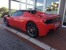 Spyder Ferraris 458 Italien lizenzfreies stockfoto
