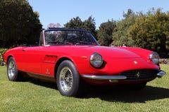 Spyders dans le Car Show de jardin dans l'Arcadie, CA Photographie stock