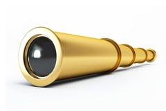 spyglass золота Стоковые Изображения