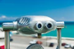 Spyglass для осматривая привлекательностей стоковые изображения rf