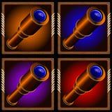 spyglass Imagens de Stock