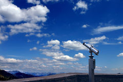 Spyglass auf dem Tal lizenzfreies stockfoto