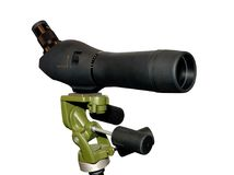 Spyglass isolated Stock Image