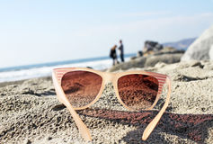 Spying Sunglasses Stock Photography