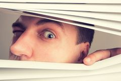 Spying Stock Photography