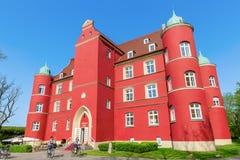 Spyker城堡在格洛韦,鲁根岛,德国 免版税库存照片