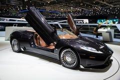 Spyker C8 Preliator sportów samochód fotografia stock