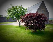 Spynie Kirk Royalty Free Stock Photo